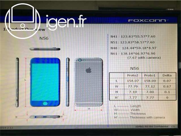 macgpic 1408641066 99220629309291 sc op تسريب أبعاد الآيفون 6 وتصميم بارز للكاميرا الخلفية