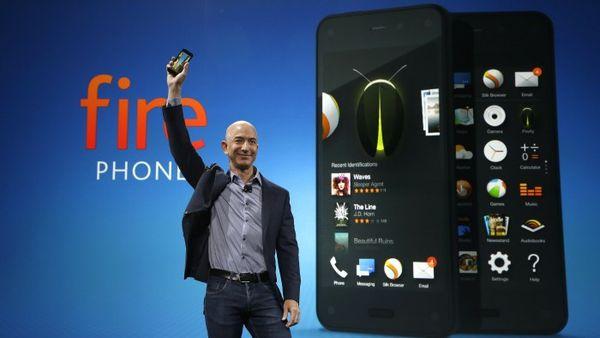 bezos fire phone أمازون تُخفّض سعر هاتف فاير فون إلى 99 سنت!