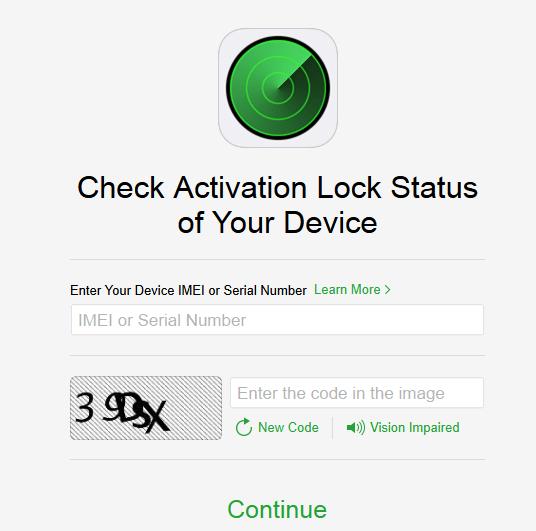 Activation-Lock