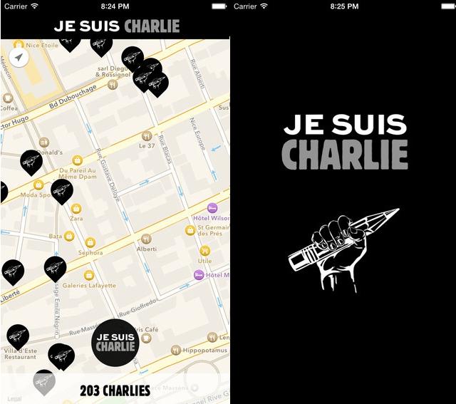 أبل توافق على تطبيقات حملة شارلي إيبدو في ساعة واحدة فقط!