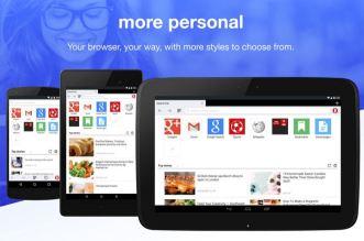 تحديث متصفّح Opera Mini على أندرويد بتوفير بيانات تصل لنحو 90%