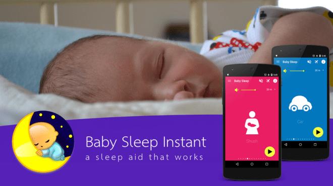 تطبيق Baby Sleep Instant لمساعدة طفلك على النوم فورًا