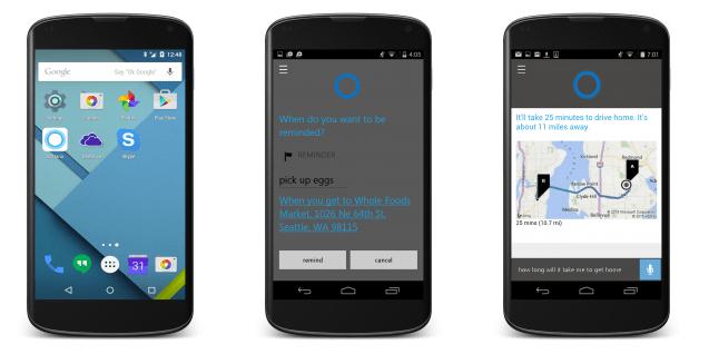 """المساعد الصوتي كورتانا """"Cortana"""" قريبًا على أندرويد"""