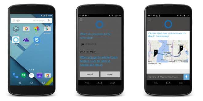المساعد الصوتي Cortana سيشق طريقه على أندرويد الشهر القادم