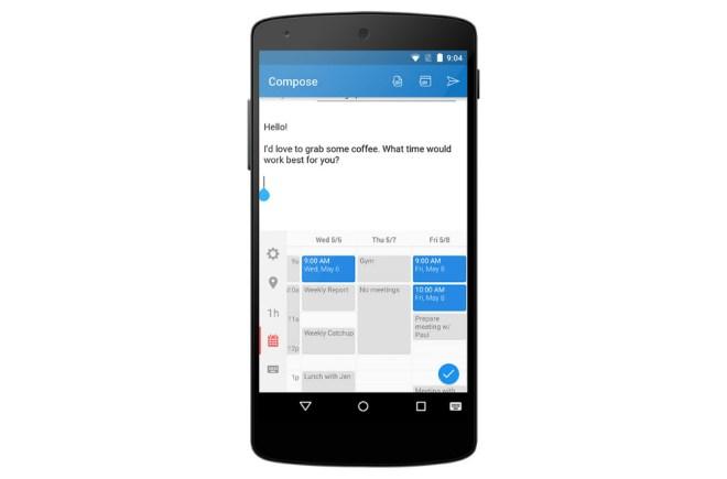 تحديث Sunrise Calendar بميزة إضافة لوحة مفاتيح لأول مرة لتطبيقات التقويم