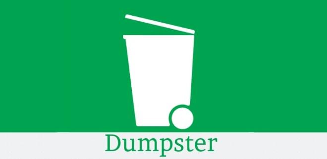 تطبيق Dumpster سلّة محذوفات سحابيّة لإسترجاع أي ملف حُذف بالخطأ