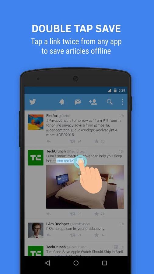تطبيق Flynx معه ستتصفّح الروابط دون الخروج من فيسبوك أو تويتر
