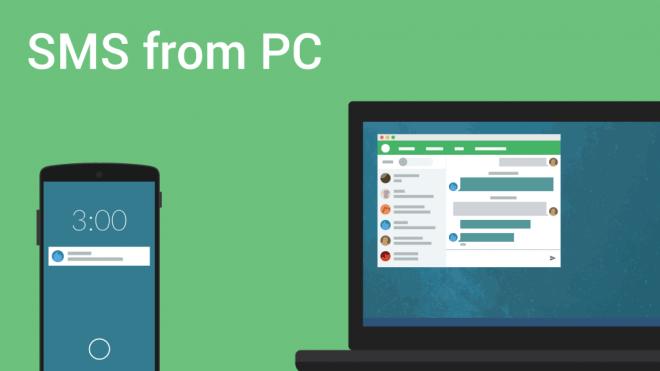 Pushbullet يجلب الدعم الكامل لتراسل الـ SMS إلى سطح المكتب