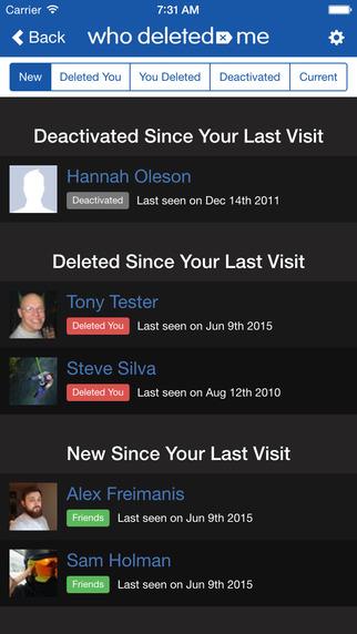 تطبيق يُعلِمك بمن قام بحذفك من أصدقائك على فيسبوك