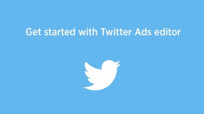 محرر إعلانات تويتر