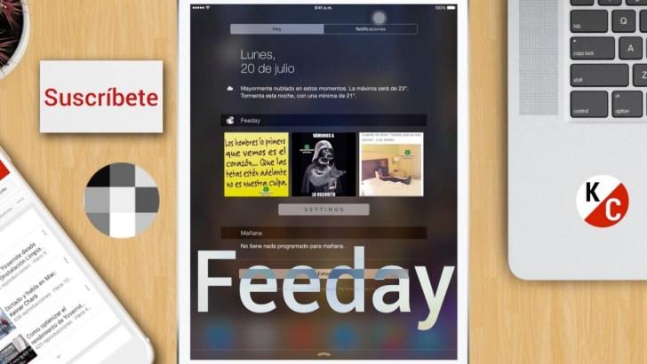 Feeday على iOS لمتابعة أحداثك في إنستجرام بمركز التنبيهات