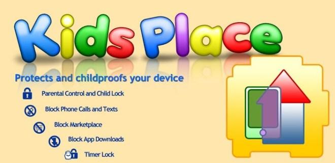 تطبيق Kids Place على أندرويد لتأمين هاتفك من عبث الأطفال