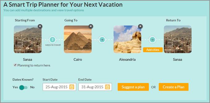 اشهر مواقع السفر والسياحه