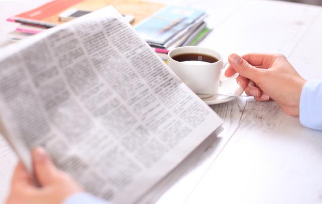 read-newspaper