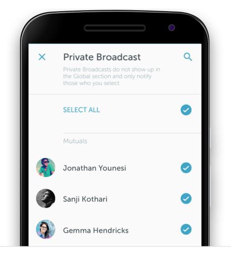 تطبيق بريسكوب يدعم الآن عرض البث بالوضع الأفقي على أندرويد و iOS