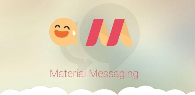 Material Messaging أفضل بديل لتطبيق الرسائل في أندرويد