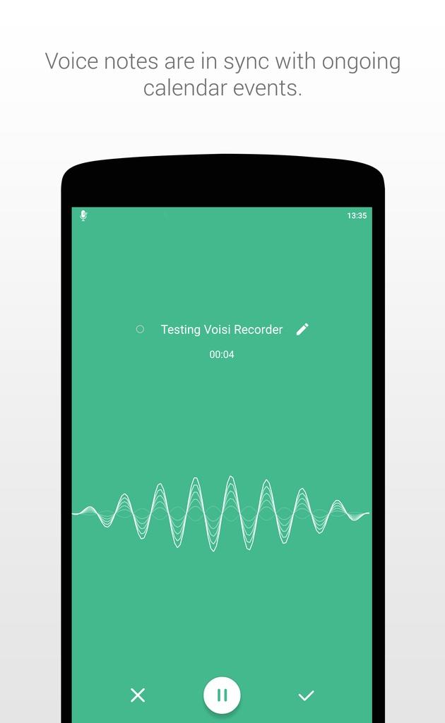 تطبيق Voisi Recorder لتسجيل مكالمات وملاحظات صوتية دون روت