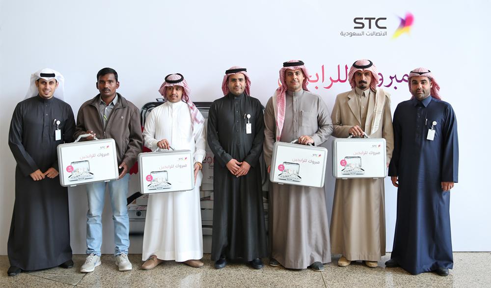 الفائزين في حملة المليون مع سـوا