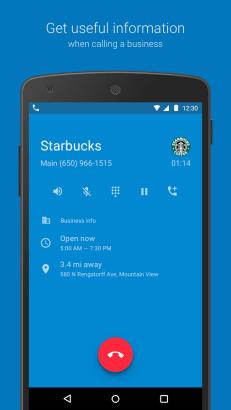 تطبيقي Contacts و Phone الإفتراضيين من قوقل الآن على متجر بلاي
