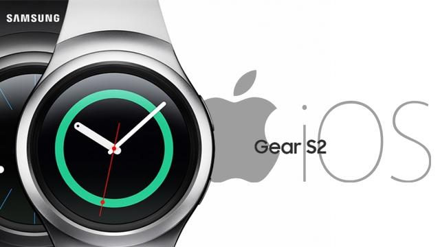 Gear S2 iOS