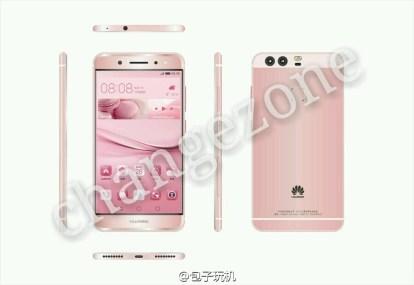 Huawei-P9-rose