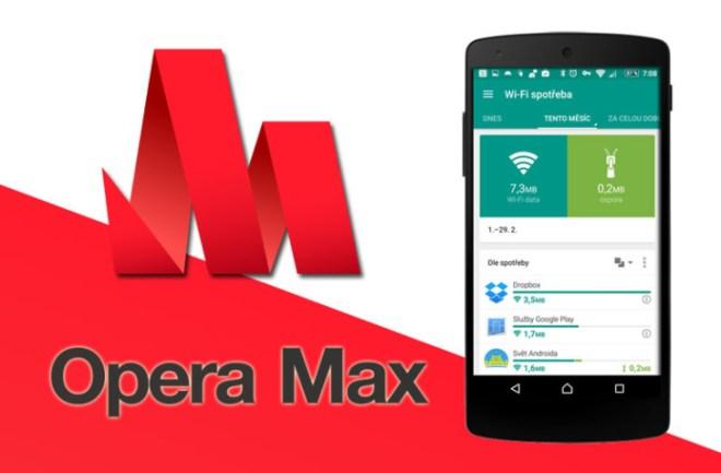 تطبيق Opera Max يجلب خاصية الإشعارات للتطبيقات التي تستنذف البيانات في الخلفية