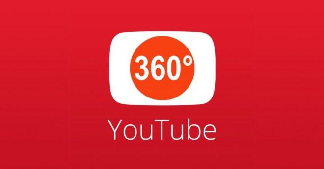 يوتيوب فيديو 360 درجة