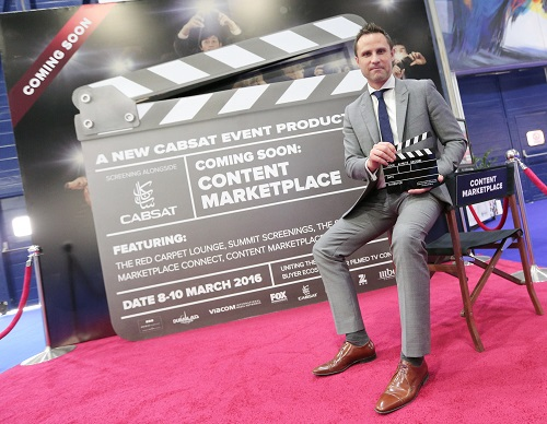 Coming in 2016 - Andrew Pert, Show Director of CABSAT, unveils the all-new Content Marketplace