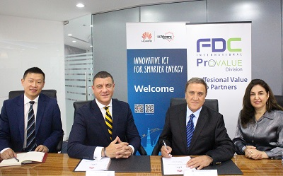 Huawei signs partnership with FDC