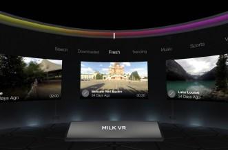 تطبيق Samsung Milk VR لإكتشاف وتشغيل فيديوهات VR بدون نظارة Gear VR