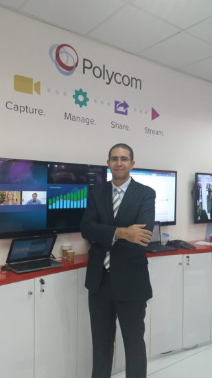 Ahmed Sousa - Polycom Regional Manager, Solution Architecture, MEA & Tur...