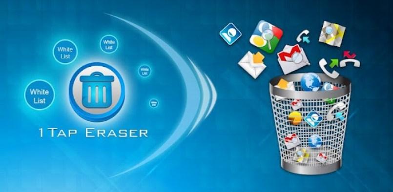 تطبيق 1Tap Eraser على أندرويد لإزالة الملفات الغير مرغوب فيها وأكثر