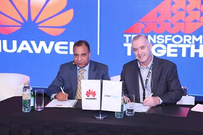 Huawei InterTouch MoU signing ceremony