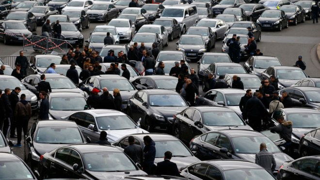 France Drivers Strike