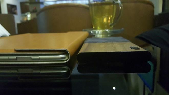 قارئ البصمة بين أزرار الصوت, تجربة إستخدام البصمة مماثلة للهواتف الذكية وهذا بالطبع شيء جيد