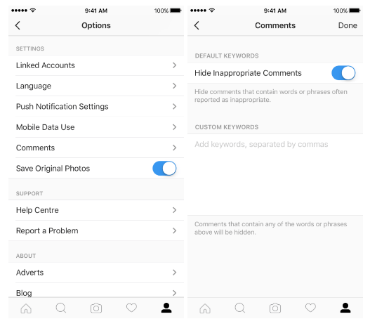 instagram-comment-moderation