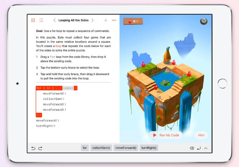 أبل تُطلق تطبيقها Swift Playgrounds لتعلّم لغة برمجة سويفت على آيباد