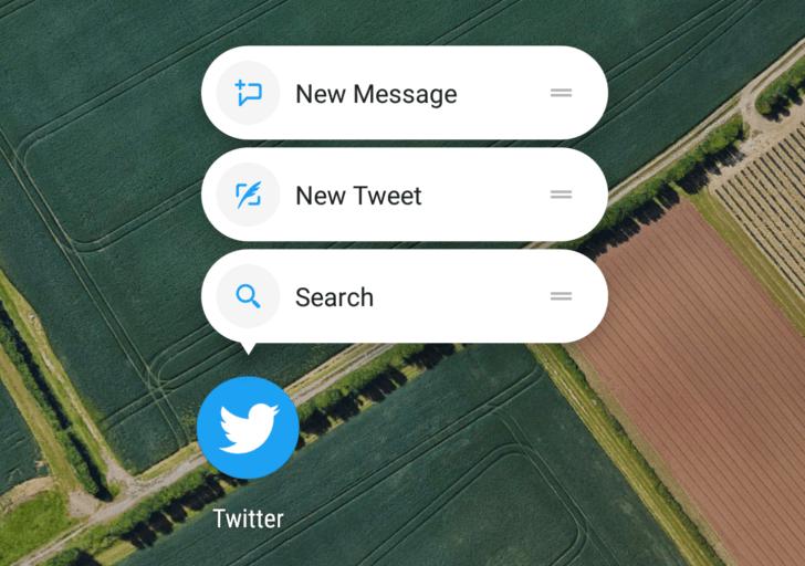 تحديث تويتر على أندرويد يدعم الآن إختصارات التطبيق والنوافذ المتعددة