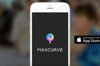 """محرر الصور الإحترافي MaxCurve على آيفون وآيباد """"مميز"""""""