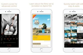 تطبيق Filmborn على iOS لمعالجة الصور والفيديو بشكل إحترافي