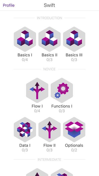 تطبيق TapCoding أسرع طريقة لتعلّم لغة البرمجة سويفت