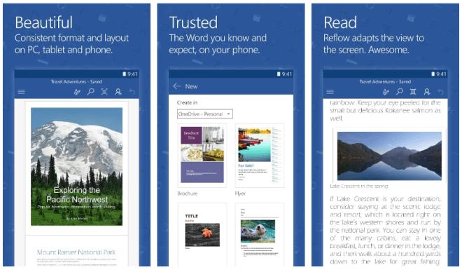 تطبيقات مايكروسوفت أوفيس على أندرويد تدعم الآن صور SVG