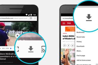 كروم 55 يصل متجر بلاي مع ميزة التنزيل وعرض الصفحات بدون إنترنت