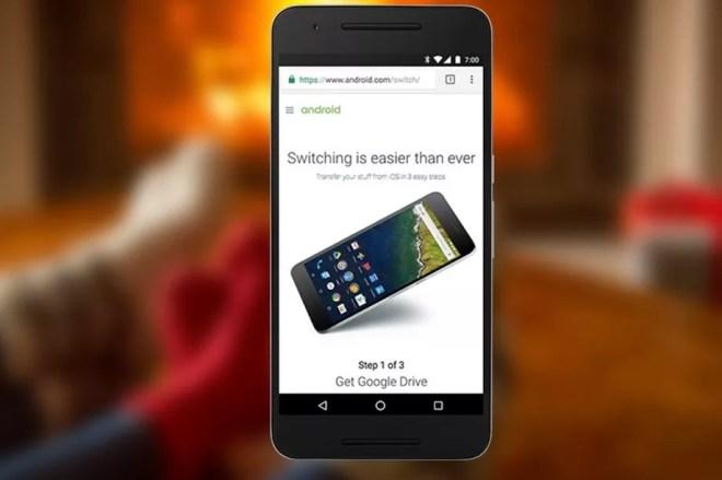 قوقل درايف ينشأ أداة خاصة لتسهيل الترحيل من iOS إلى اندرويد