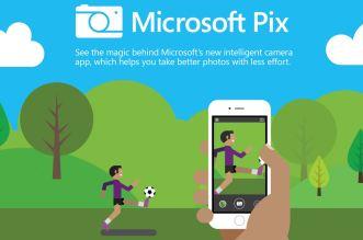تحديث تطبيق Microsoft Pix مع الدعم لآيفون 7 بلس