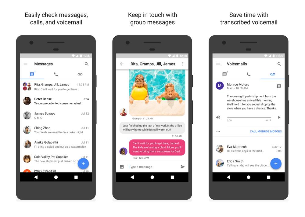 تطبيق Google Voice يأتي بميزة حذف المحادثات نهائيًا وأكثر