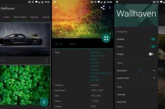 تطبيق Wallhaven يُقدّم لك خلفيات بجودة HD، QHD، 4K على أندرويد