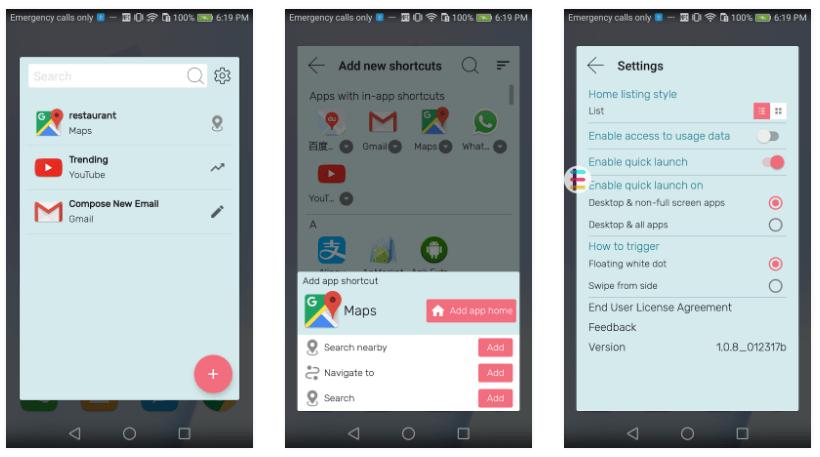 تطبيق EazLi الجديد لإنشاء إختصارات للتطبيقات وأدواتها