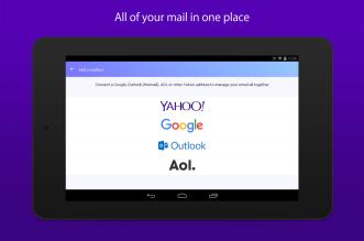 ياهو ميل يعمل الآن مع حسابات جيميل وآوتلوك و AOL