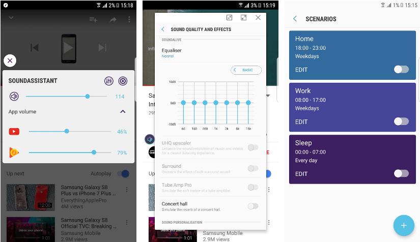 تطبيق SoundAssistant من سامسونج لتخصيص إعدادات الصوت في هواتفها